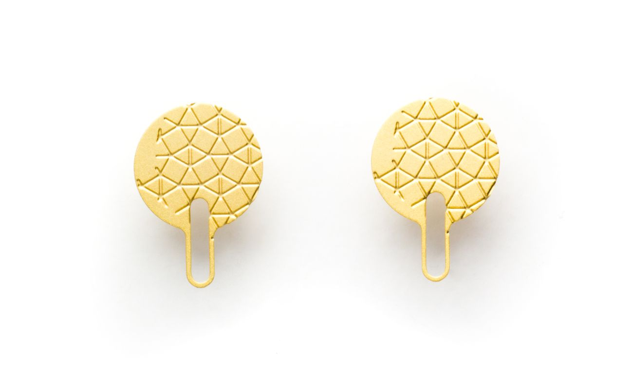 empreinte-I pair of earrings elevation